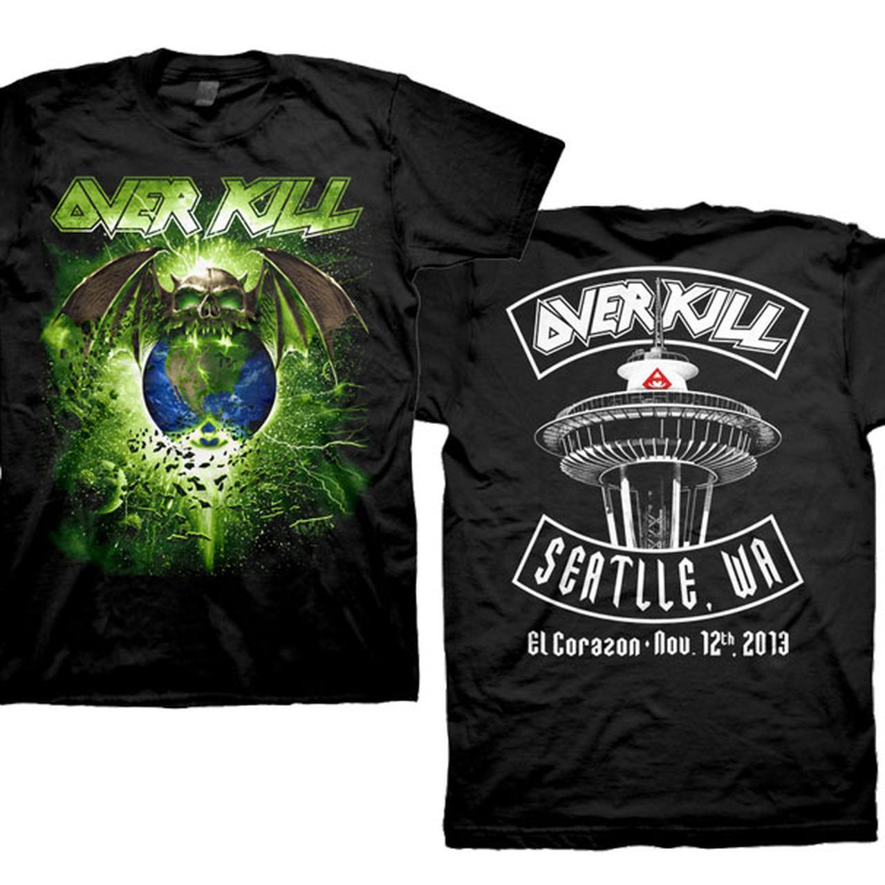 Overkill Seattle T Shirt