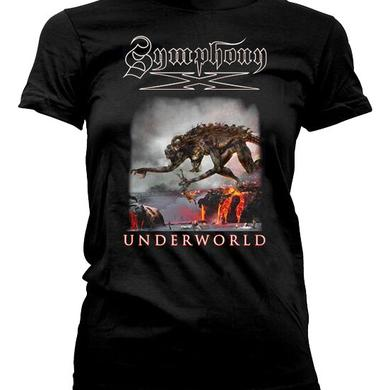 Symphony X Monster Back Dates Ladies Tee