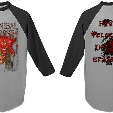Cannibal Corpse Impact Spatter Raglan