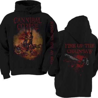 Cannibal Corpse Fire Up The Chainsaw Pullover Hood