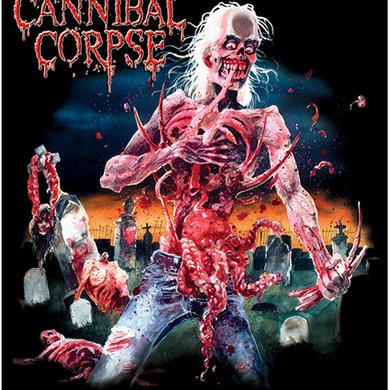 Cannibal Corpse Eaten Back to Life Flag