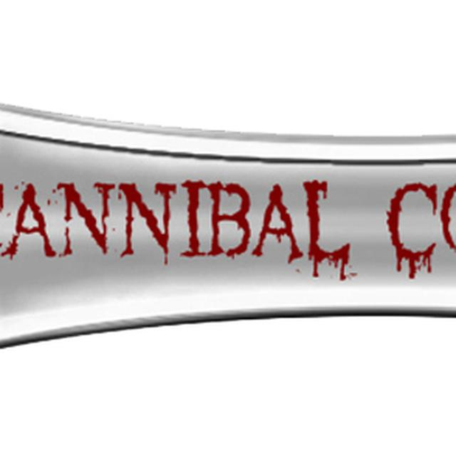 Cannibal Corpse Logo Silver Bottle Opener
