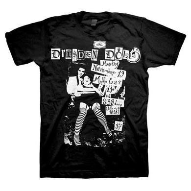 Dresden Dolls Middle East Flyer T-Shirt