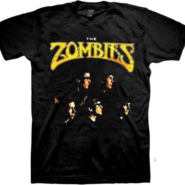 The Zombies Profiles of Band Tshirt
