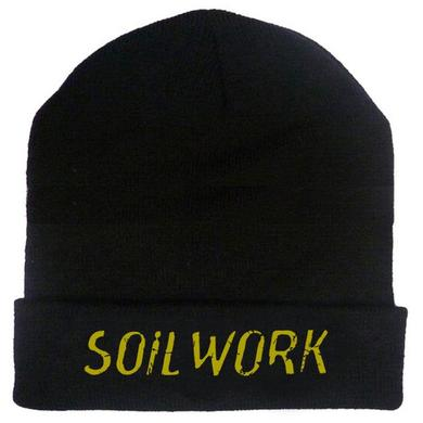 Soilwork Embroidered Gold Logo 12in Beanie