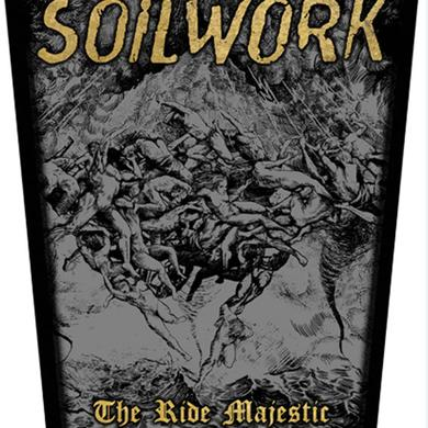Soilwork The Ride Majestic Back Patch