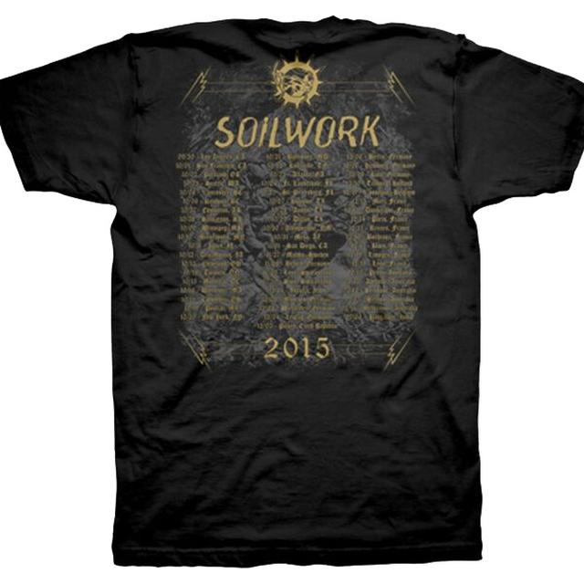 Soilwork Ride Majestic Tour 2015 T-Shirt