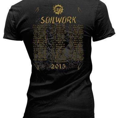 Soilwork Ride Majestic Tour 2015 Ladies Tee