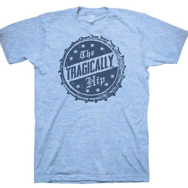 The Tragically Hip Bottle Cap Blue T-Shirt
