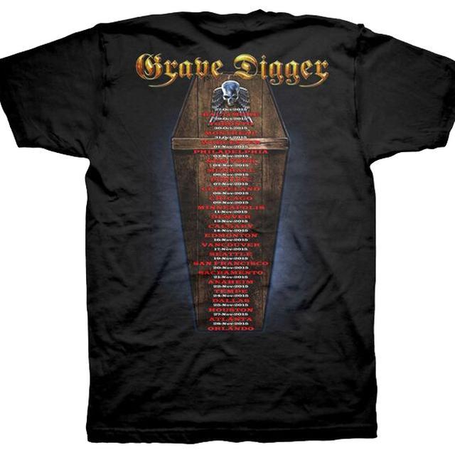 Grave Digger USA 2015 Dates T-Shirt