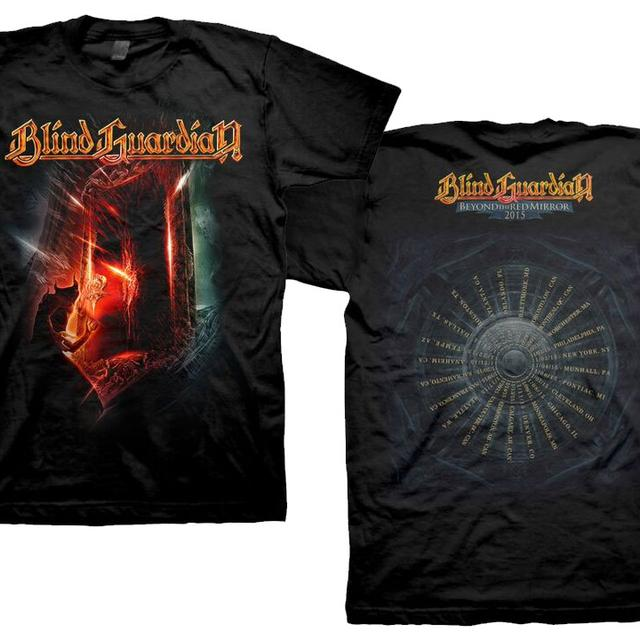 Blind Guardian Demon 2015 Tour Dates T-Shirt