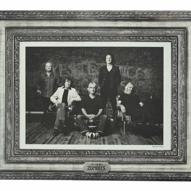 The Zombies Band Photo Lithograph