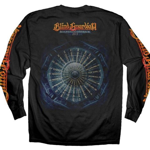 Blind Guardian Demon 2015 Tour Dates Longsleeve T-Shirt