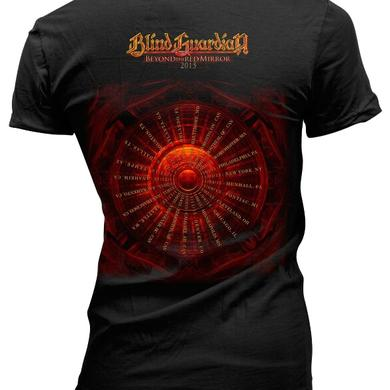 Blind Guardian Beyond the Red Mirror 2015 Tour Dates Ladies tee