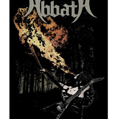 ABBATH Fire Breathing Flag