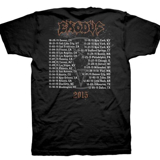 Exodus Demon Goat  - 2015 Tour Dates T-Shirt
