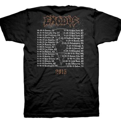 Exodus Demon Goat  - 2015 Tour Dates T-Shirt
