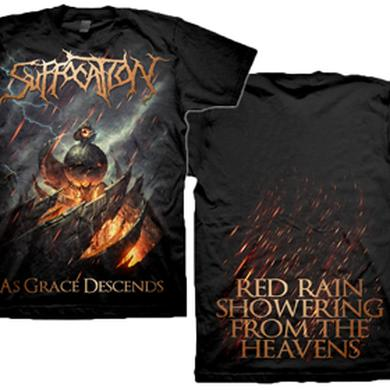 Suffocation As Grace Descends / Red Rain T-Shirt