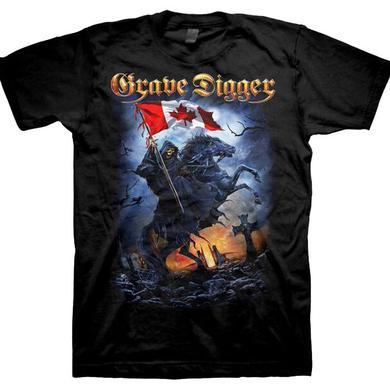 Grave Digger Canada 2015 Dates T-Shirt