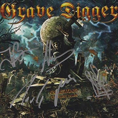 Grave Digger Exhumination The Early Years Signed CD