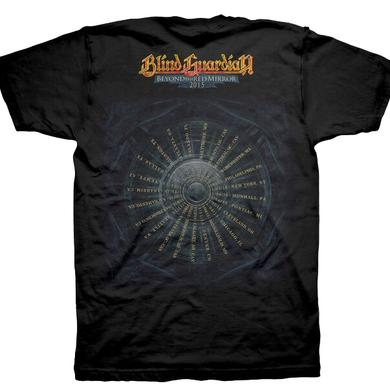 Blind Guardian Reaper Crow 2015 Date Back T-Shirts