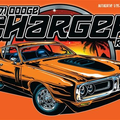 Dirty Donny 1971 Dodge Charger R/T Model Kit