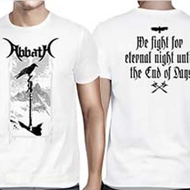 ABBATH Eternal Night White T-Shirt