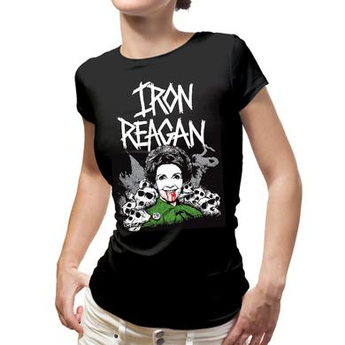 Iron Reagan Nancy Reagan Ladies Tee