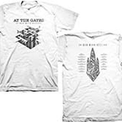 At The Gates At War With Reality White T-shirt
