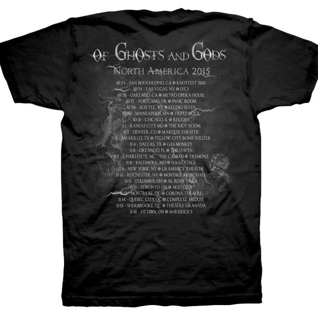 Kataklysm Of Ghost and Gods Tour Dates T-Shirt