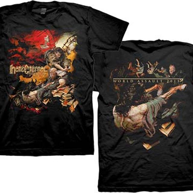 Hate Eternal Infernus Album Cover World Assualt T-Shirt