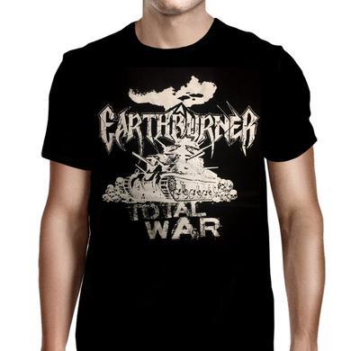 Earthburner Total War Skull T-Shirt
