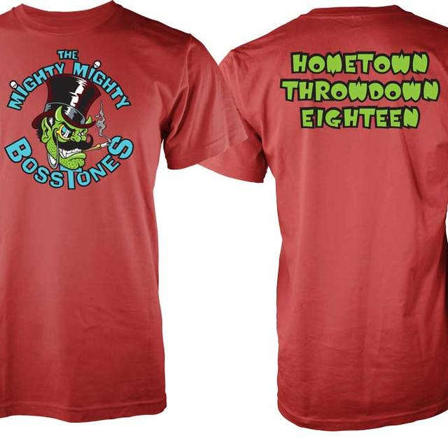 Mighty Mighty Bosstones Green Devil HTTD 18 T-Shirt