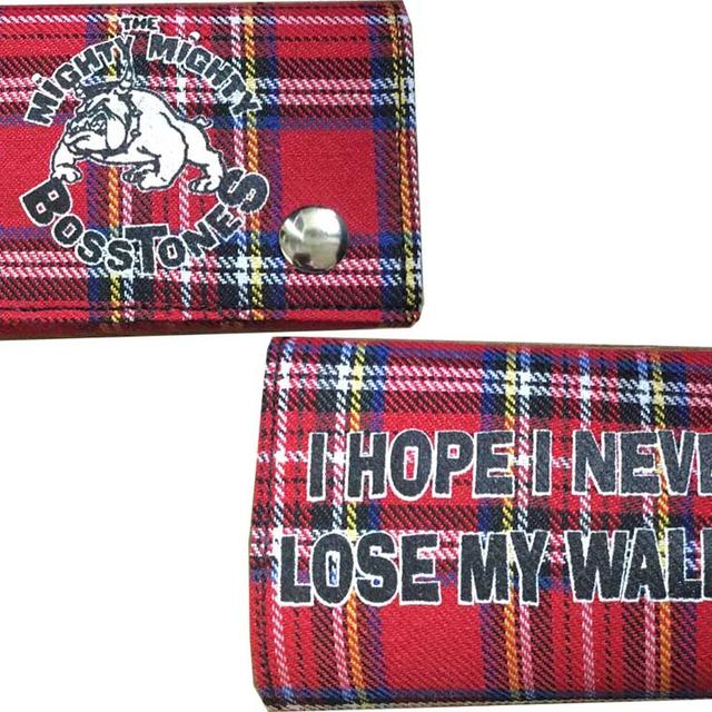 Mighty Mighty Bosstones Plaid Chain Wallet