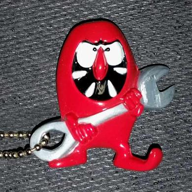 Dirty Donny Gremmie Traditionial Red Key Chain Bottle Opener
