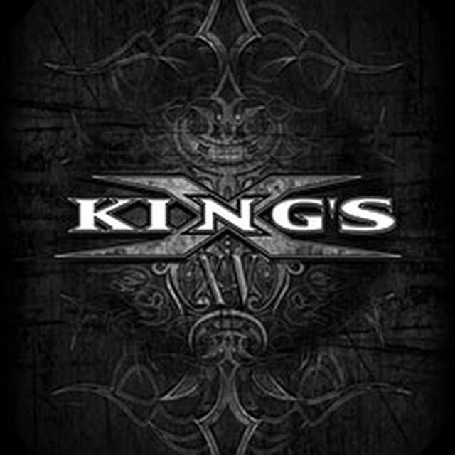 Kings X Tribal Logo Textile Flag