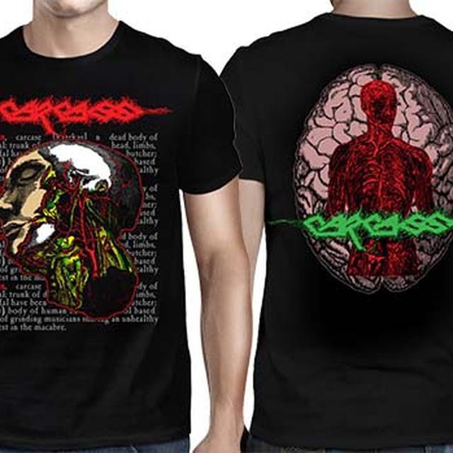 Carcass Anatomical Head T-Shirt