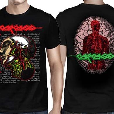 Carcass Anatomical Head T-Shirt