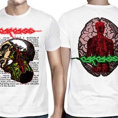 Carcass Anatomical Head White T-Shirt