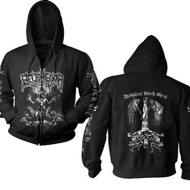Belphegor Conjuring - Diabolical Death Metal Zip Hoodie