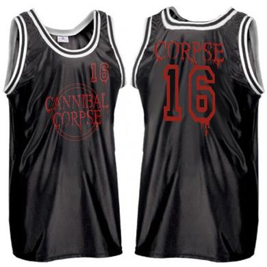 Cannibal Corpse Seal Logo Basketball Jersey