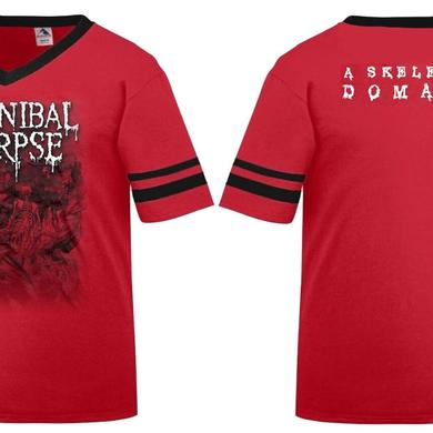 Cannibal Corpse Skeletal Domain Soccer Jersey