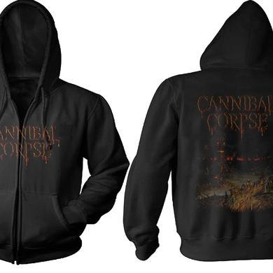 Cannibal Corpse Skeletal Domain Zip Hoodie
