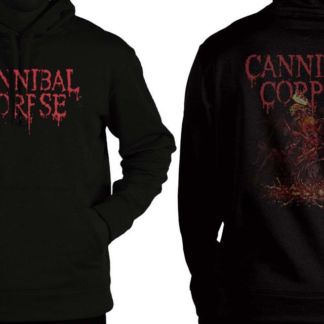 Cannibal Corpse Crown Skeleton Pullover Hoodie