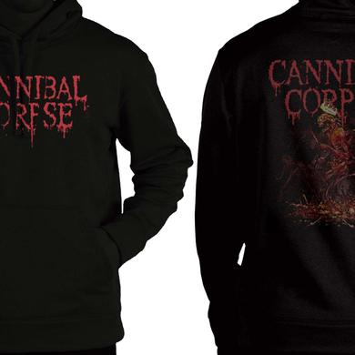 Cannibal Corpse Crown Skeleton Pullover Hoodie