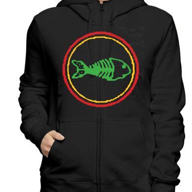 Fishbone Classic Logo Name Zip Hoodie