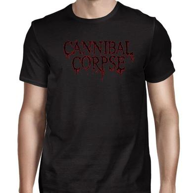 Cannibal Corpse Blk Red Logo 2016 Tour Dates T-Shirt