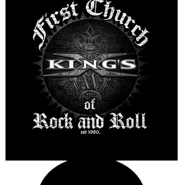 Kings X Logo Est 1980 Koozie