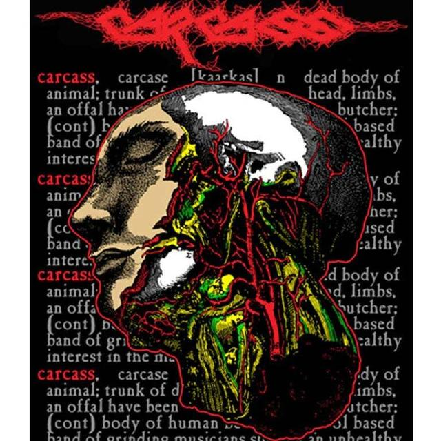 Carcass Cabeza Sticker
