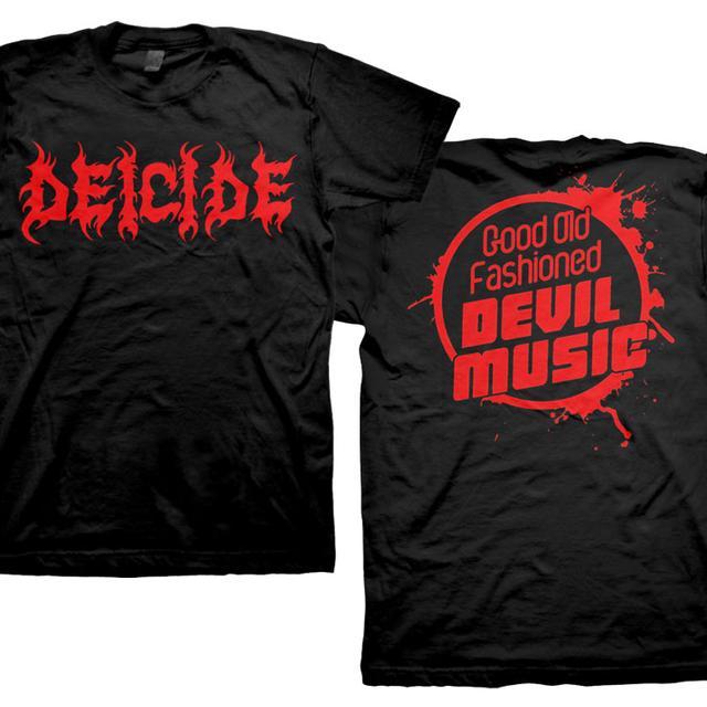 Deicide Logo Old Fashioned T-Shirt